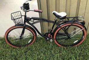 "Huffy 26"" Nel Lusso Cruiser with Perfect Fit Frame Bike, Black Bike for Sale in Miami, FL"