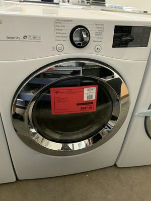 New LG Steam Dryer On Sale 1yr Factory Warranty for Sale in Chandler, AZ