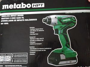 Metabo 18v Cordless Driver Drill 2 batteries NEW for Sale in Jacksonville, FL