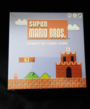 New Super Mario Bros Power Up Card Game for Sale in Fort Lauderdale, FL