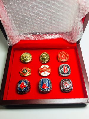 Boston Red Sox World Series Banner & Ring Set for Sale in Providence, RI