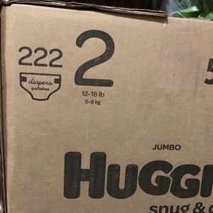 Huggies Snug Dry size 2 diapers-pañales Trade/intercambio for Sale in Downey, CA