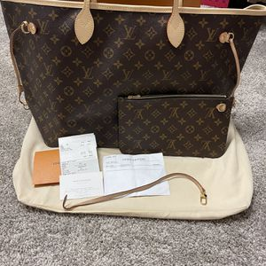 Authentic Louis Vuitton Neverfull Gm Mono $1400 Not $750 for Sale in Kissimmee, FL