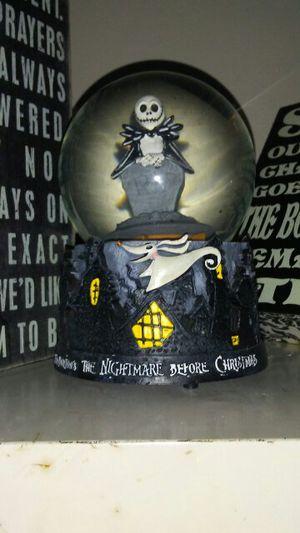 Nightmare before Christmas globe for Sale in El Dorado, KS