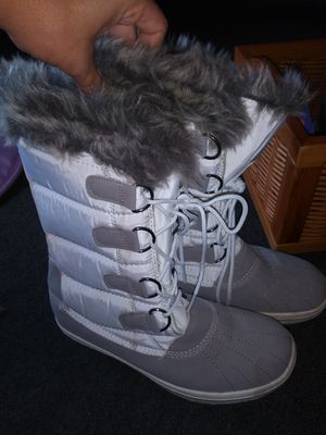 Faux fur boots for Sale in Largo, FL