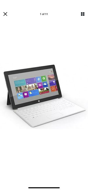 ( computer tablet )Microsoft Surface 2 Windows RT 8.1 of 64 GB 1.30 GHz Tablet w/ Keyboard and Case for Sale in Irvine, CA
