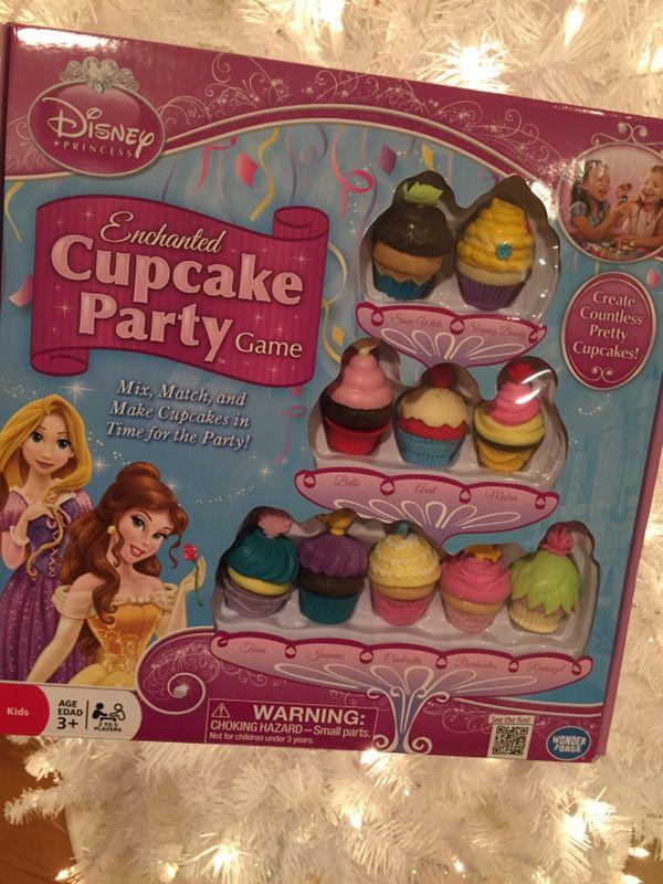 Disney Cupcake Party game