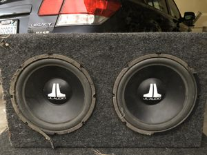 Jl audio subwoofer for Sale in Renton, WA