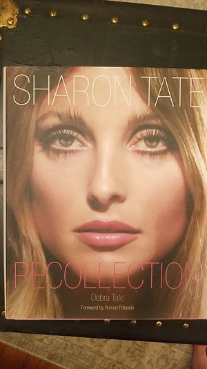Book Sharon Tate Recollection by Debra Tate for Sale in Virginia Beach, VA