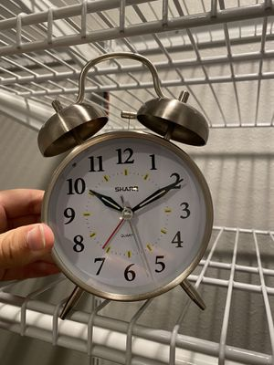 Old fashioned bell alarm clock for Sale in Lynnwood, WA