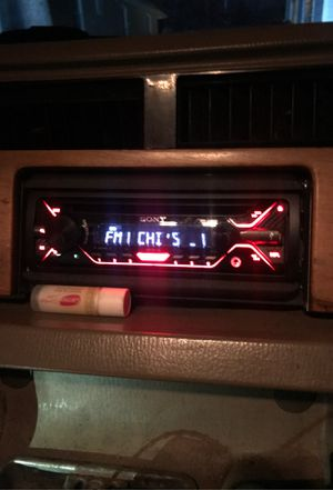 Sony car radio for Sale in Broadview, IL