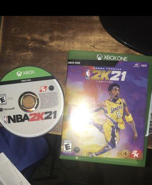 Xbox One Nba 2k21 disc brand new for Sale in Mesquite, TX