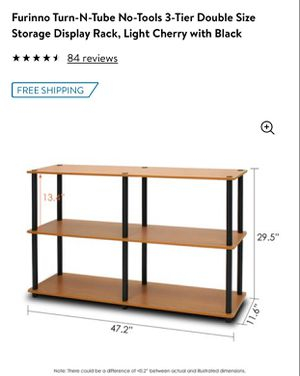 Storage display rack new in 📦 not assembled for Sale in Dallas, TX