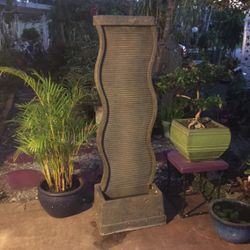 """Massarelli 61"""" Curved Water Wall Fountain for Sale in Hollywood,  FL"""