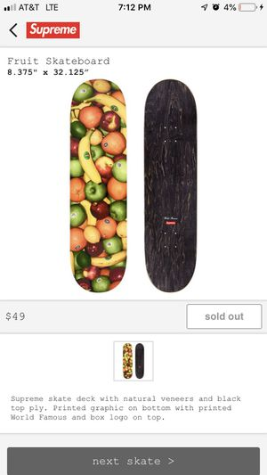 Supreme fruit deck for Sale in West Bloomfield Township, MI