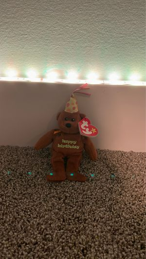 """""""Celebration"""" RARE Mcdonald's exclusive beanie baby from 2009! for Sale in West Bloomfield Township, MI"""