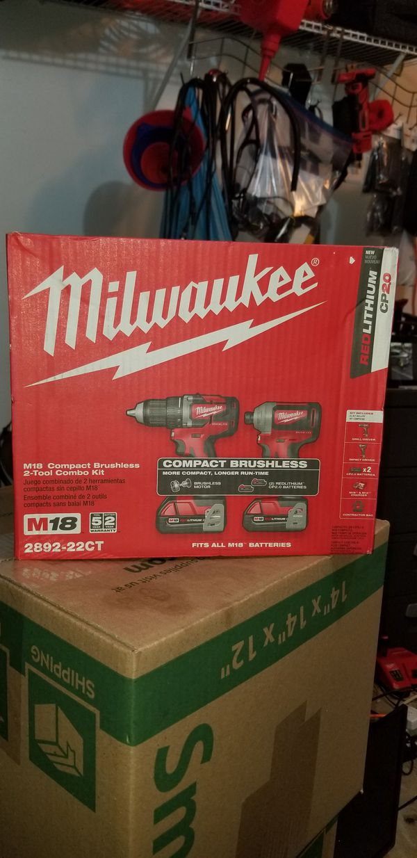 Milwaukee combo set brushless