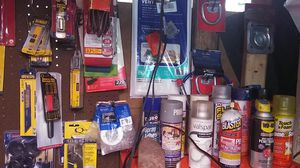 All types of drill bits drill tipstools lights tools. Just about anything for a house for Sale in Indianapolis, IN