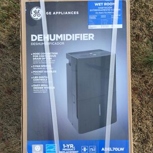 GE Dehumidifier (ADEL70LW) for Sale in College Park, MD