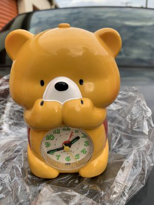 CUTE ~~Bear ~~ Battery OPERATED MELODY ALARM CLOCK BRAND NEW for Sale in Lakewood, CA