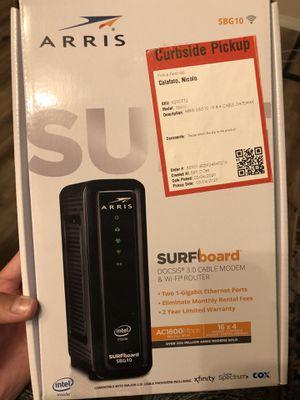 Arrow Surfboard SBG10 Modem & WiFi Router Combo for Sale in San Diego, CA