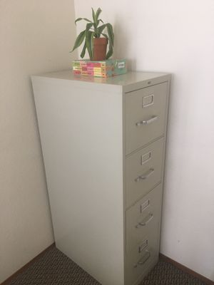 🌱 HON Filing Cabinet w/New Files! 📁 for Sale in CA, US