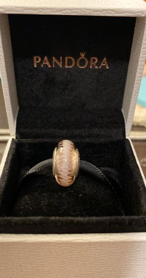Pandora pink murano glass charm for Sale in Fresno, CA