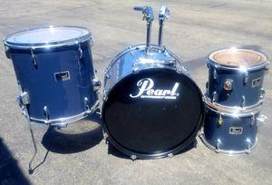 Pearl 4pc Drum Set (shells) for Sale in Benicia, CA