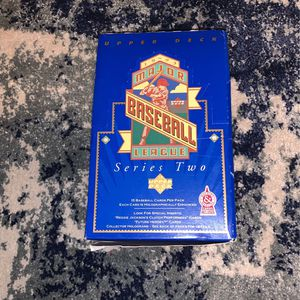 1993 major baseball league series two baseball cards for Sale in Corrales, NM