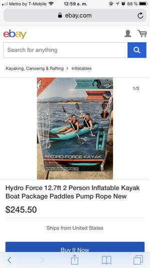 Boat package inflatable for Sale in Palmdale, CA