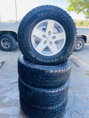 "Jeep Wrangler 17"" wheels & tires for Sale in Gilroy, CA"
