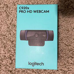 Logitech Webcam C920x Pro HD *Brand New for Sale in Santee, CA