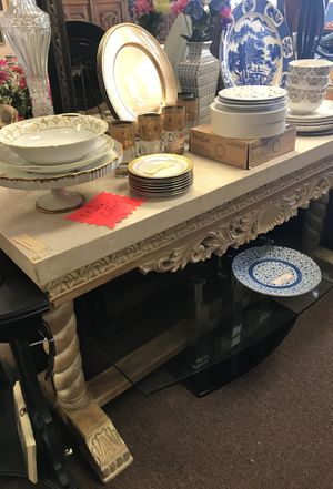 Large Decorative Console Table for Sale in Orlando, FL