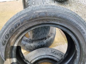 Matching set of Goodyear Assurance Tires 215/60R16 for Sale in Bartlesville, OK