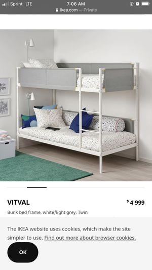 IKEA vitval bunk bed for Sale in San Diego, CA