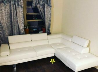 Brand new 🌾Antares White Modern Sectional | U7101 for Sale in Alexandria,  VA