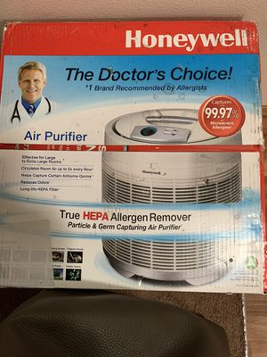 Honeywell true HEPA Allergen Remover and Air Purifier for Sale in Portland, OR