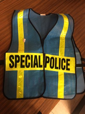 Special Police safety vest for Sale in Gambrills, MD