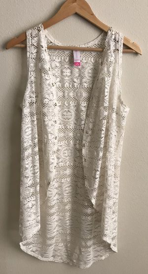 Vintage Lace Sleeveless Cardigan for Sale in Tampa, FL