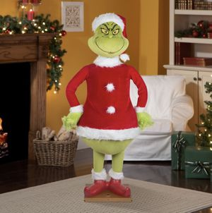 6ft Gemmy animated Christmas life size grinch for Sale in Bristol, CT