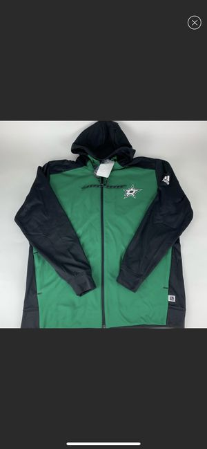 Dallas Stars NHL Adidas Zip Up Hoodie New for Sale in Young, AZ