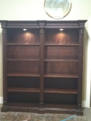 Solid mahogany wood bookshelf for Sale in Cleveland, OH