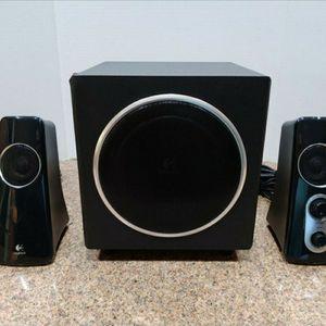 Logitech speaker system Basically New for Sale in The Bronx, NY