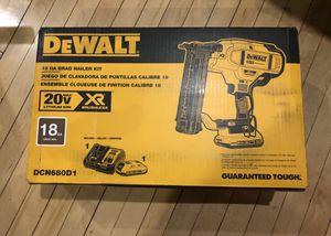 Dewalt 20v Xr 18 Gauge Brad Nailer Kit (Brand New) for Sale in Yonkers, NY