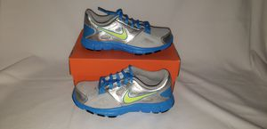 Nike Flex Supreme TR 2 Size 12.5c Brand New Shoes Silver Blue Sneakers for Sale in Princeton, FL