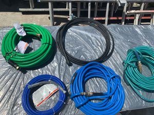 Hoses new an used for sale 5 & 10 each for Sale in Oakland, CA