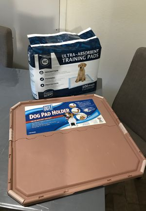 Dog Pee Pads and Pee Pad Holder for Sale in Dallas, TX