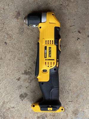 Dewalt 20v right angle drill (TOOL ONLY) for Sale in Columbus, OH