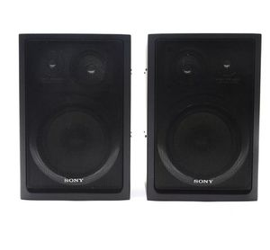 Sony SS-H77 3 way bookshelf speakers for Sale in Denver, CO