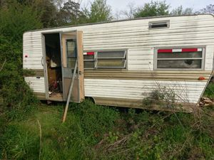 Pull-behind camper needs work where bathroom was tradeAr15 for Sale in Columbiana, AL